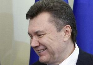 Янукович: Моя цель - сделать так, чтобы в треугольнике ЕС-Россия-США Украина нашла свое место