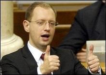 Коалиция сделала выбор: Яценюк - спикер