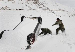 В Афганистане 35 человек погибли под снежной лавиной