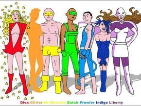 В Британии издан первый комикс о супергероях-геях