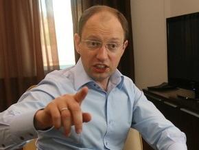 Яценюк: Украинский патриотизм заключается не в том, чтобы сильнее плюнуть в сторону Москвы