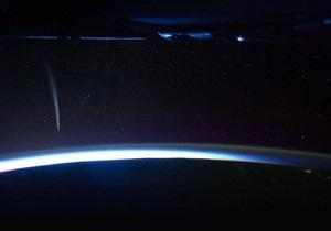 Астронавт NASA сумел заснять Солнцегрызущую комету