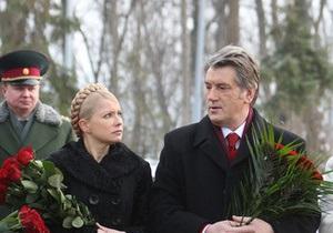 Тимошенко: Ющенко навредил стране больше, чем Кучма