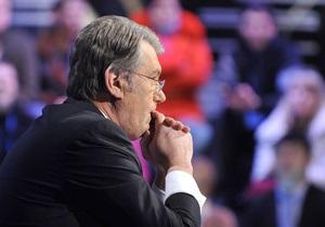 Ющенко считает нормальным то, что он живет на президентской даче