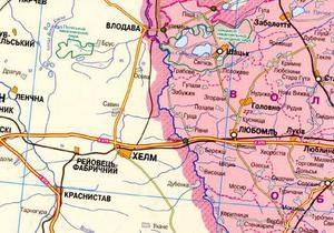 Западный Буг  съедает  Украину: Волынь ежегодно уменьшается на десятки квадратных километров