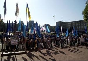 ПР: Свобода и Объединенная оппозиция ставят под угрозу жизни мирного населения Николаева