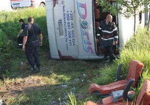 В Румынии автобус с украинскими туристами попал в ДТП: один человек погиб