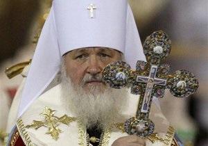 Патриарх Кирилл сообщил, что обеспокоен количеством развлекательных телепередач
