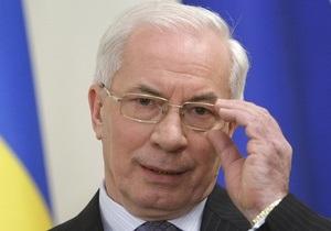 Кабмин Азарова почтил минутой молчания погибших в авиакатастрофе под Смоленском