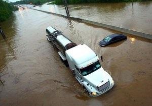 США объявили чрезвычайное положение из-за проливных дождей