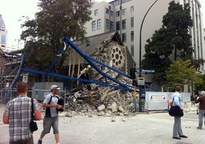 Жертвами землетрясения в Новой Зеландии стали около 100 человек