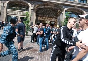 МВД сообщает, что за бездеятельность во время событий 18 мая наказаны 15 милиционеров