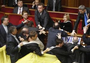 Ратификацию Харьковских соглашений поддержали девять бютовцев и семь нунсовцев