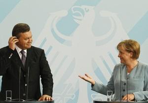 УП: Меркель заявила Януковичу, что политики не должны выяснять отношения в судах