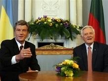 Ющенко завершил официальный визит в Литву