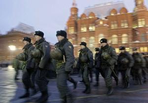 Собянин попросил милицию усилить охрану Москвы