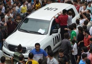 ООН приостанавливает работу в Сирии и выводит из страны персонал