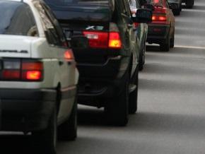 В Киеве ограничат движение транспорта по шести улицам и Южному мосту