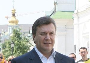 Янукович пожелал благоприятных погодных условий альпинистам гималайской экспедиции Макалу 2010