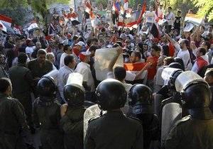 В Сирии проходят демонстрации против  внешнего заговора