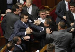Самые скандальные моменты первых дней работы Рады 7 созыва