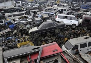 Утилизация старых авто в России: деньги на программу закончатся уже в мае