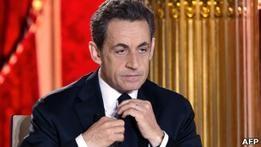 Саркози объявил о введении налога на финансовые операции