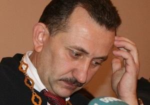 Генпрокуратура завершила расследование дела судьи Зварича