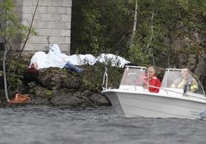 Полиция не знает точного числа жертв теракта на острове Утойя
