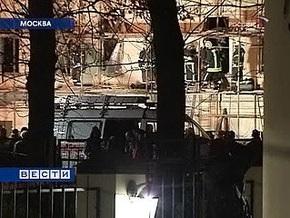 В находящемся на реконструкции доме в центре Москвы обрушились перекрытия: есть жертвы