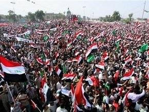 В Ираке прошел многотысячный митинг против договора с США