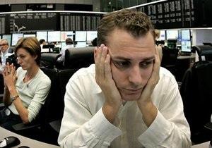 Украинские рынки открылись резким падением котировок