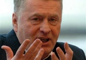 Жириновский призывает открыть границу между Украиной и Россией