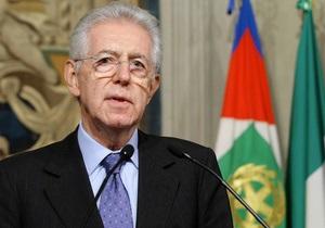 Премьер-министр Италии не намерен поддерживать ни одну партию