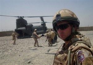 Афганский солдат расстрелял троих британских военнослужащих