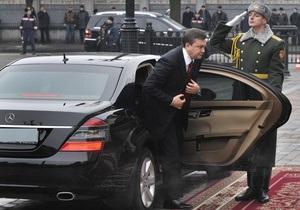 Янукович сократил расходы на себя и Администрацию Президента