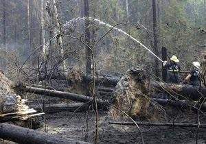 За минувшие сутки площадь пожаров  на Дальнем Востоке сократилась в 40 раз