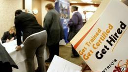 Безработица в США начала падать и составила 8,6%