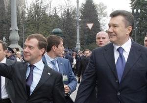 В связи с визитом Медведева центр Киева практически весь день будет перекрыт