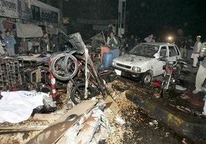 Теракт в Пакистане: погибли 49 человек, 150 получили ранения