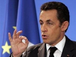 Саркози поддержит ужесточение санкций против Ирана