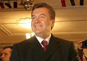 Янукович присвоил трем шахтерам звание героев Украины