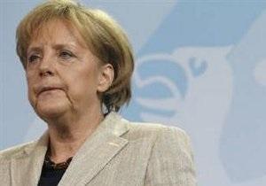 Меркель: Крах евро развалит Евросоюз