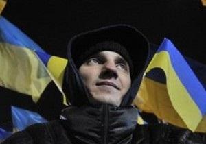 Празднование Дня свободы завершилось: участники акции покидают Майдан Незалежности