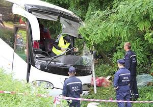 Водителя разбившегося под Черниговом автобуса с паломниками арестовали