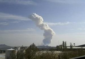 Взрыв на складе Корпуса стражей революции в Иране произошел во время военных испытаний