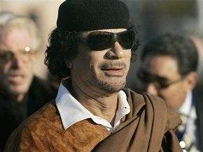 Сегодня в Украину прибывает Каддафи