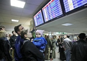 Аэропорт Борисполь не будет работать до утра