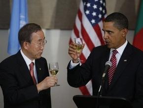 Обама выпил за процветание ООН
