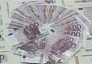 Евро вновь упал на межбанке
